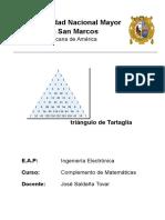 Triángulo de Tartaglia