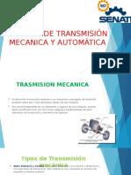 SISTEMA DE TRANSMISIÓN  MECANICA Y AUTOMÁTICA.pptx