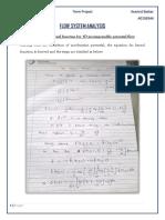 Unsteady Aerodynamics Flutter Analysis