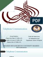 Telephone Communication [Autosaved].pptx