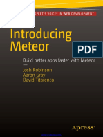 Introducing Meteor