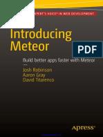 Introducing Meteor