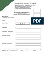 Application for Associate Graduate Member Membership 2015 (1)