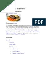 Gastronomía de Franciaword