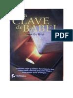 Du Brul Jack -La Clave de Babel