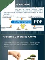 Cuenta de Ahorro Diapositivas