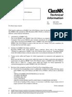 NK - IMSBC Code for Alumina
