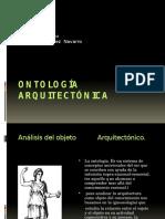 Ontologia y Axiologia dentro de la arquitectura