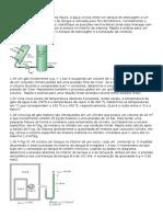Exercícios de Termodinâmica Dos Caps 1 e 2