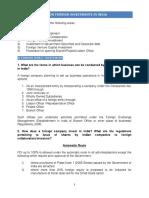 FAQ on FDI (2)