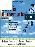 What is Mathematics - An Elementary Approach to Ideas and Methods
