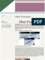 OBAT PSORIASIS
