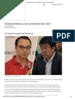 'Senate Presidency a Toss-up Between Alan, Koko' _ ABS-CBN News