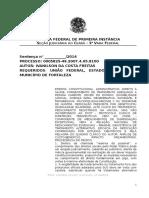 Ação Civil Pública Fornecimento de Remédios Mucopolisacaridose