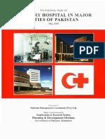 Tertiary Hospital in Major Cities of Pakistan