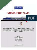 Mind the Gap Report