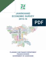 Jharkhand Economic Survey 2015-16