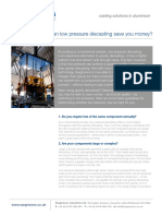 Advantages of LPDC