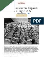 La Educación en España SigloXX