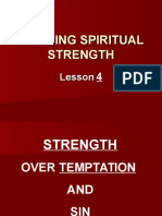 Building Spiritual Strength P. P. Lesson 4