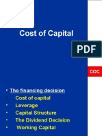 fM-Cost Of Capital