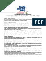 Codice di Autoregolamentazione per le primarie aperte del centrosinistra a Cantù (CO), 13.11.2016