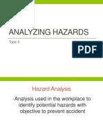 06 - Topic 5 - Analyzing Hazards
