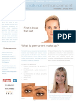 Permanent Makeup Treatments Newsletter December 2009/January 2010