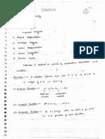 Calculus Class Notes (1)