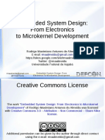 Embedded System Design From Electronics