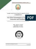 Tariff Order 9 of 2014-TANGEDCO