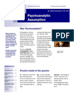 Psychoanalytic Assumption