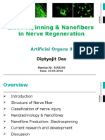 Electrospinning & Nanofibres in Nerve Regeneration- Diptyajit Das