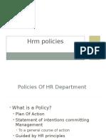 HRM Policies 3
