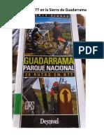 20 Rutas en BTT en La Sierra de Guadarrama