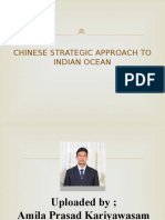 Chinese Strategic Approach to Indian Ocean