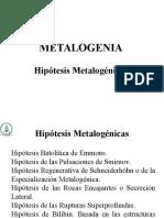 Clase 2 Metalogenia