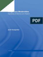 Jyoti Hoshargar Indigenous Modernities