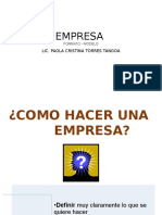 Empresa Formato Modelo 10