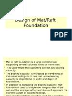Design of Mat - SD