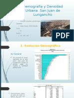 Demografía y Densidad Urbana - San Juan de Lurigancho