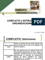 Conflicto y Estructura Organizacional