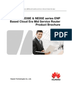Huawei NE05E NE08E Series Router Product Brochure