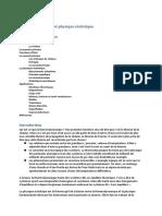 Thermodynamique et Physique Statistique