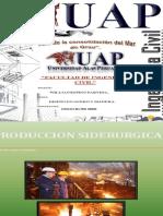 Trabajo de Aceros Produccion Siderurgica