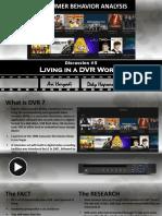 Group 5 - Living in the DVR World - Ari Deky
