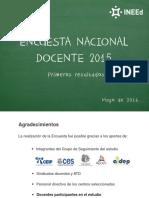 Encuesta Docente 2015