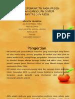 Asuhan Keperawatan Dengan Gangguan Sistem Imunitas (Hiv