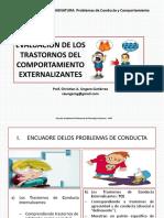 3.- Evaluación de Comportamiento Externalizantes
