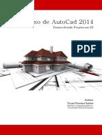 AutoCad 2014 Desenvolvendo Projetos Em 3D